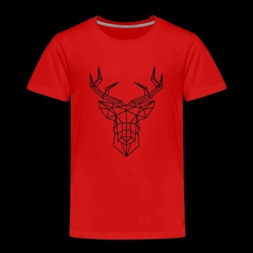 sticker tete de cerf en origami jpg - T-shirt Premium Enfant