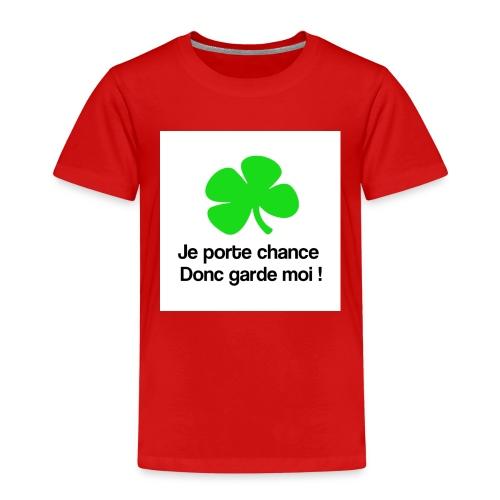 Je porte chance - T-shirt Premium Enfant