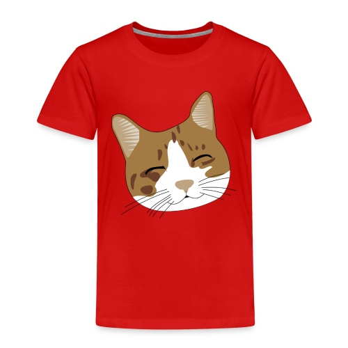 Süßes Schnurr Miau Kätzchen Katze - Kinder Premium T-Shirt