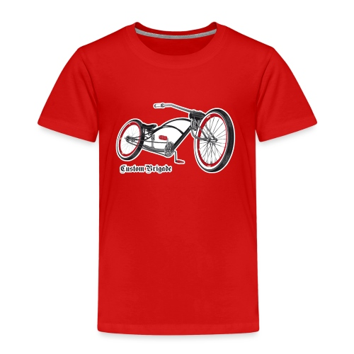 velo02 transparent - T-shirt Premium Enfant