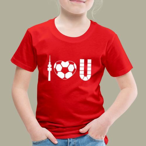 Dortmund I Love U - Kinder Premium T-Shirt