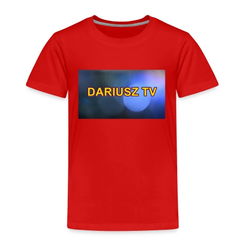 DARIUSZ TV - Koszulka dziecięca Premium