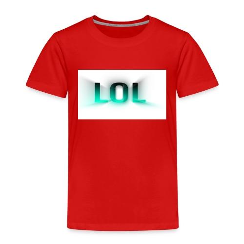 LOL Box Logo Schein Effekt - Kinder Premium T-Shirt