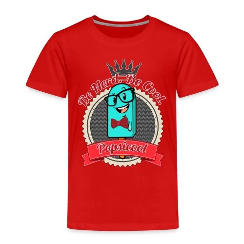 Popsicool Nerd - Maglietta Premium per bambini
