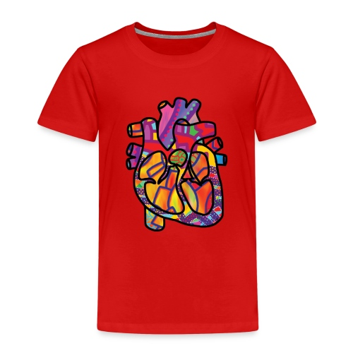 Real Energetic Heart - Kids' Premium T-Shirt