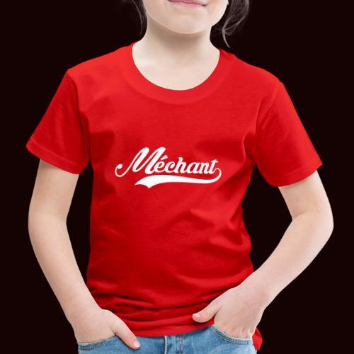 mechant_logo_white - T-shirt Premium Enfant