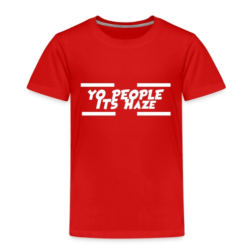 Yo People Its Haze Design - Kids' Premium T-Shirt