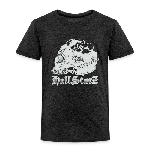 HELLSTARZ Skull Logo - T-shirt Premium Enfant