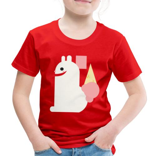Ice cream bunny - Kids' Premium T-Shirt