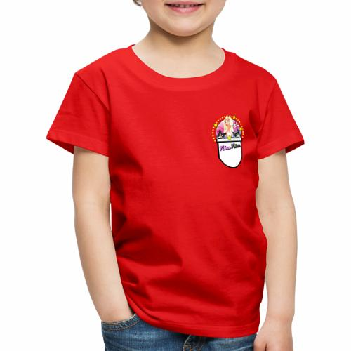 Nina Nice Pocket - Kinder Premium T-Shirt
