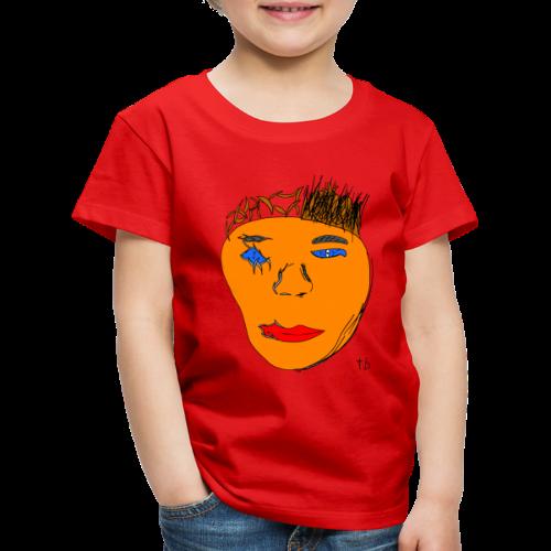 Gesicht - Kids' Premium T-Shirt