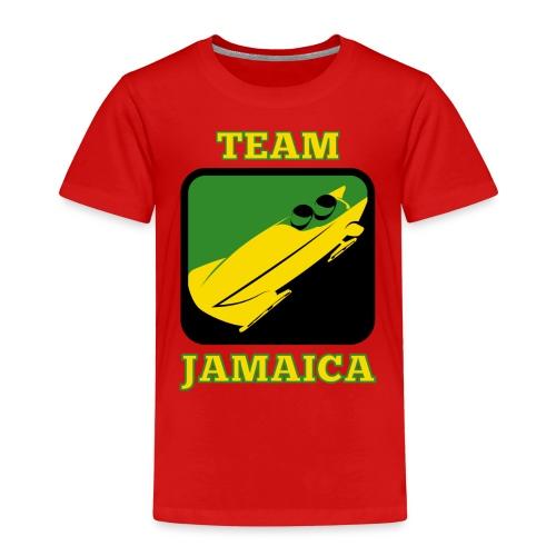 bob team jamaica cool runnings - Kinder Premium T-Shirt