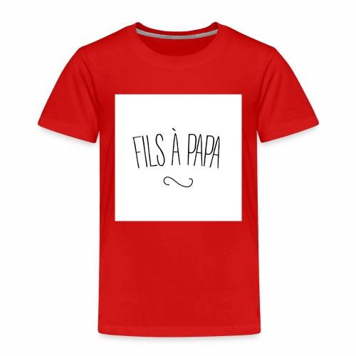 fils a papa jpg - T-shirt Premium Enfant