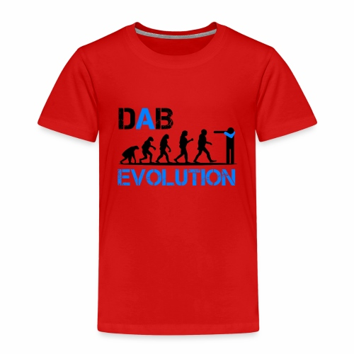 DAB EVOLUTION / Homo Dabens - Maglietta Premium per bambini