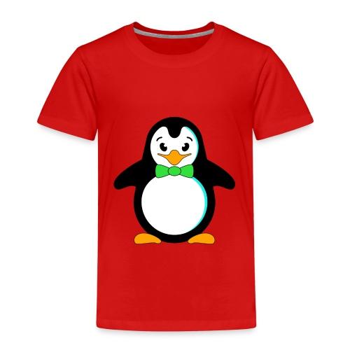 Pinguin Vögel Flossen Fliege Krawatte Frack Winter - Kids' Premium T-Shirt