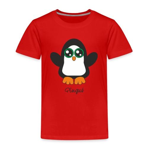 Pinguś - Koszulka dziecięca Premium