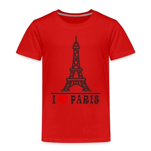 Paris - Lasten premium t-paita