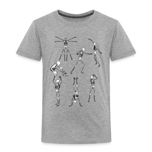 Skulls - Lasten premium t-paita