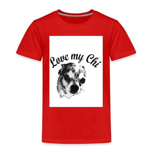 love my chi - Kinder Premium T-Shirt