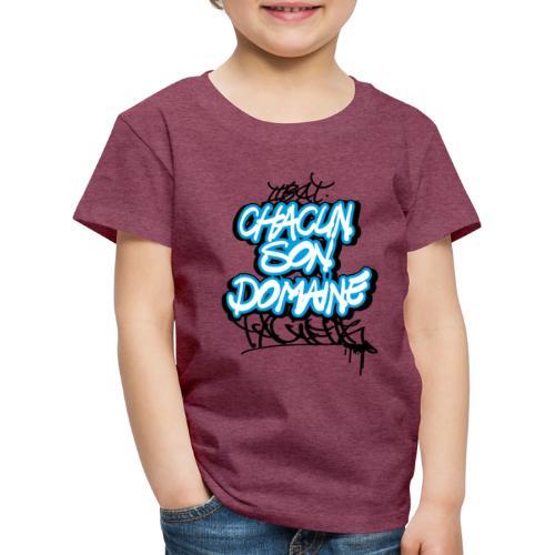 chacun son domaine - T-shirt Premium Enfant