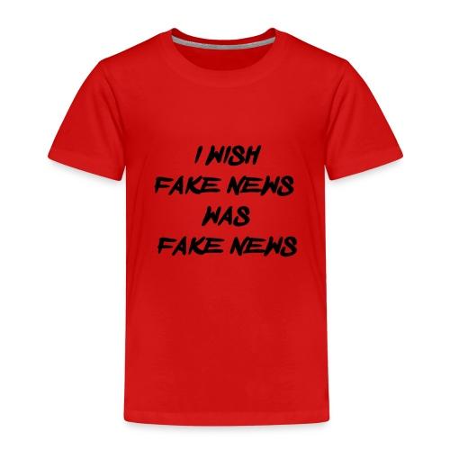 fake news black - Kinderen Premium T-shirt