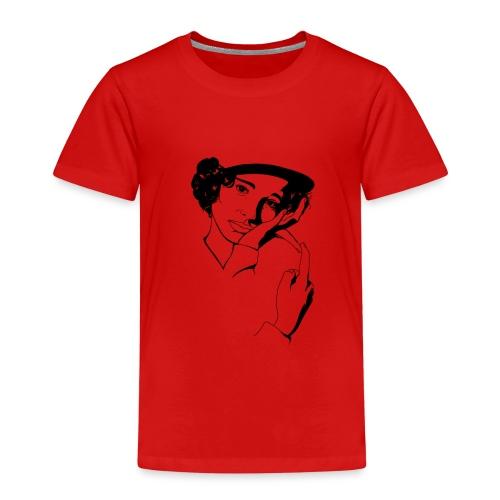 Natalie B&W - Camiseta premium niño