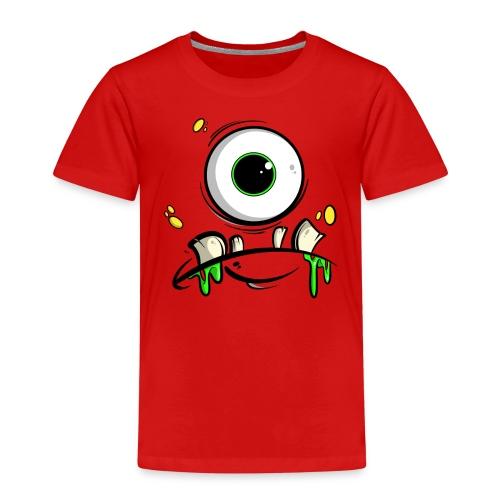 Monster Gesicht - Kinder Premium T-Shirt