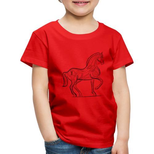 Equus Pferd - Kinder Premium T-Shirt