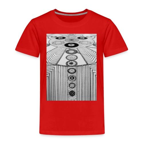 MandalArt Design circles - Kinderen Premium T-shirt