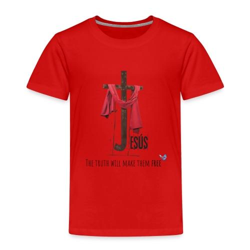 religion jesus - Camiseta premium niño