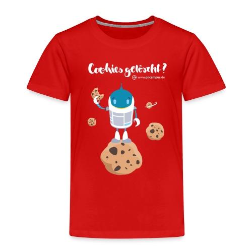 Cookies gelöscht - Kinder Premium T-Shirt