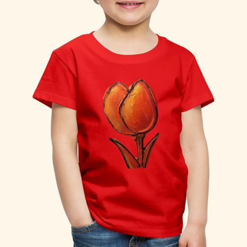 TULIP ORANGE - Kinderen Premium T-shirt