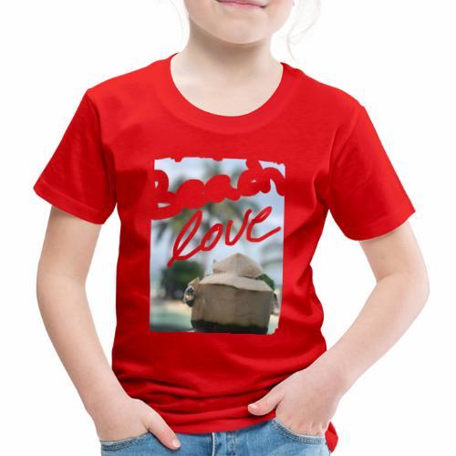 Beach Love & Coco - Kinder Premium T-Shirt