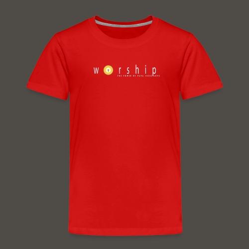 Vorlage V5217 THE POWER OF PAPA JESUS LOVE 300 - Kinder Premium T-Shirt
