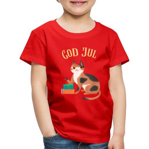God jul - Premium T-skjorte for barn