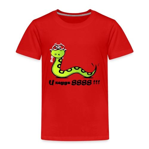 U zegge SSSS !!! - Kinderen Premium T-shirt