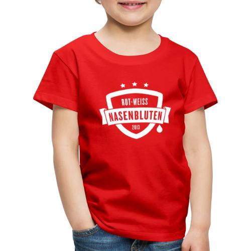 Rot-Weiß Nasenbluten e.V. - Kinder Premium T-Shirt