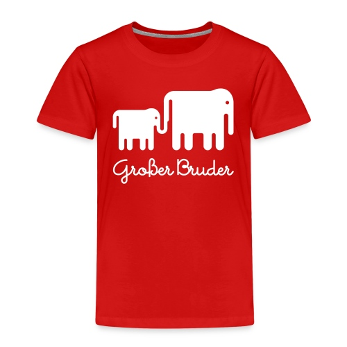 Elefant GB - Kinder Premium T-Shirt