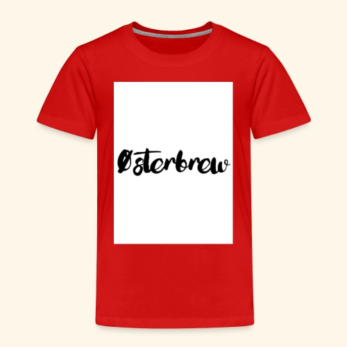 Østerbrew - Børne premium T-shirt