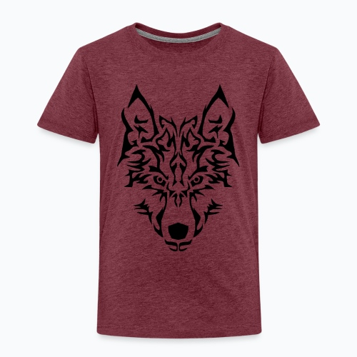 Tribal Wolf - T-shirt Premium Enfant