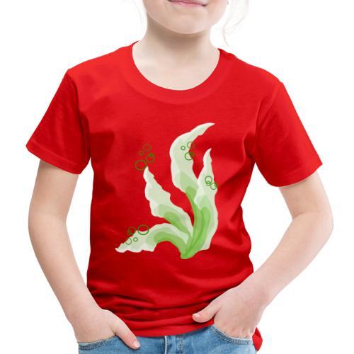 pennelli acquerello verde - Maglietta Premium per bambini