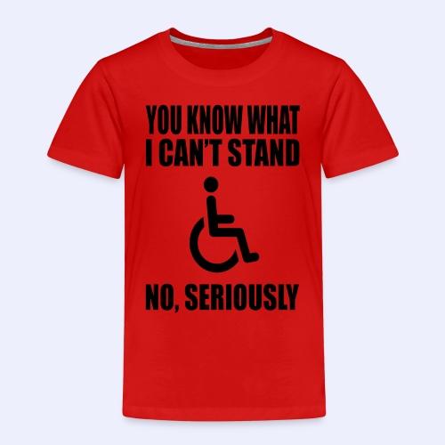 Can tstand1 - Kinderen Premium T-shirt
