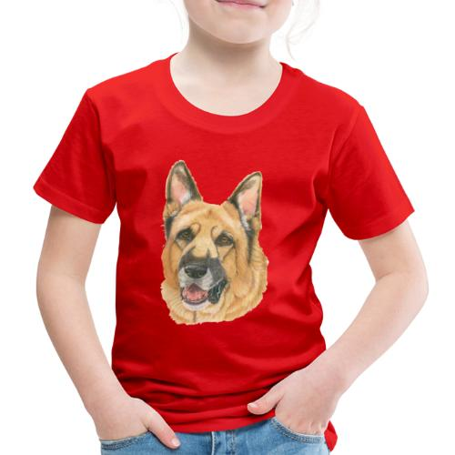 german shepherd color - Børne premium T-shirt
