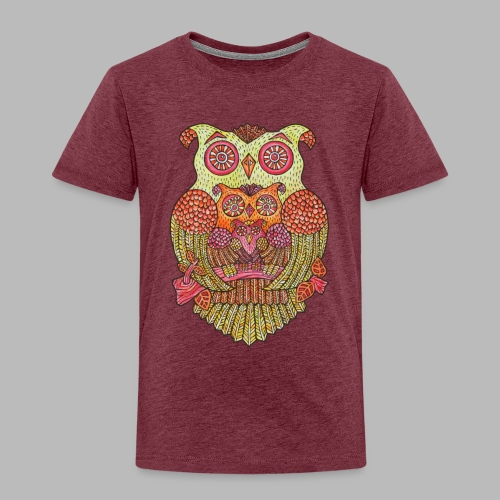 Owl Family - Kids' Premium T-Shirt