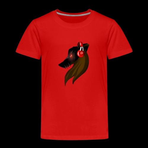Shadow Wolf Logo - Kinder Premium T-Shirt