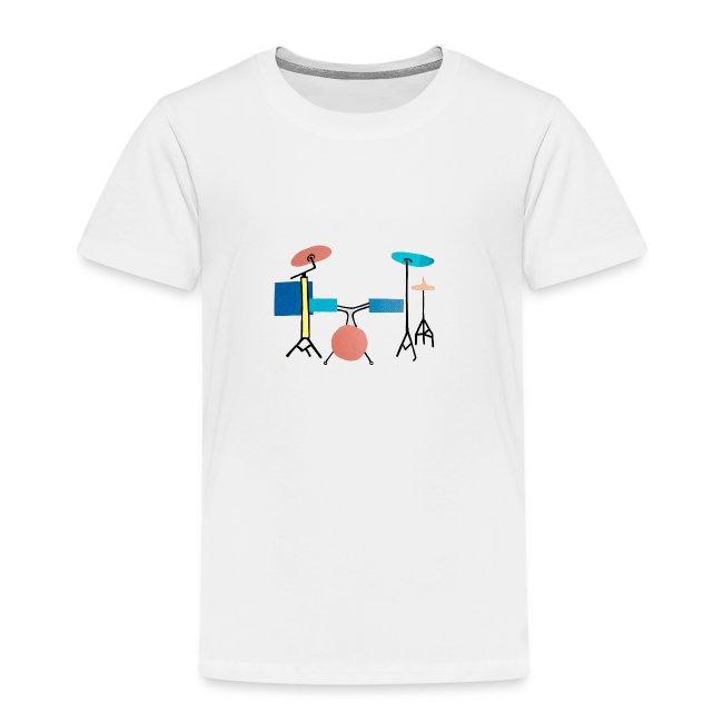 Azia Drum White