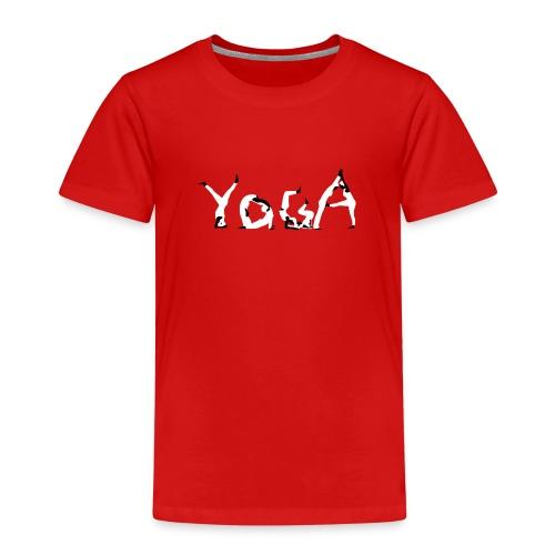 Yoga white - Kinder Premium T-Shirt