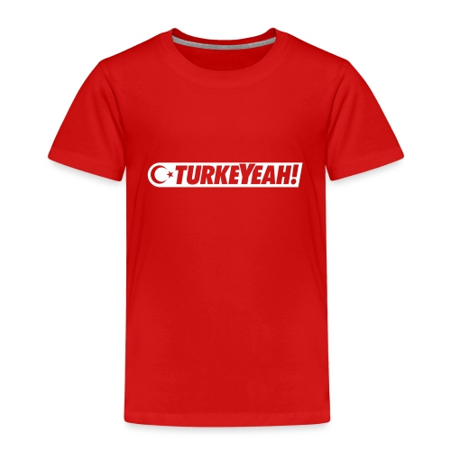 Turkeyeah! Official Logo - Kinder Premium T-Shirt