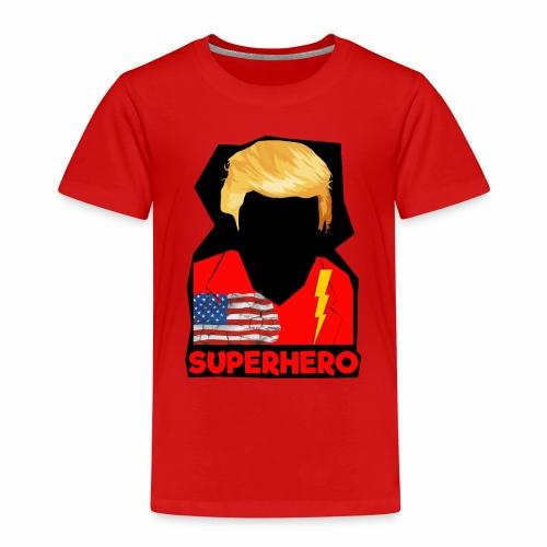 Super Donald / Orange Trump Tear-strappo - Maglietta Premium per bambini