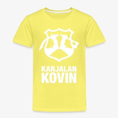 karjalan kovin pysty - Lasten premium t-paita